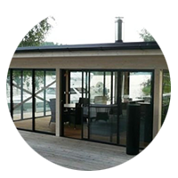 Vision Lasiterassit - Tampere- lasihuoneiden avaimet käteen suunnittelu
