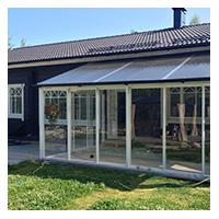 Vision Lasiterassit - Tampere - monipuoliset lasiterassiratkaisut edullisella hinnalla