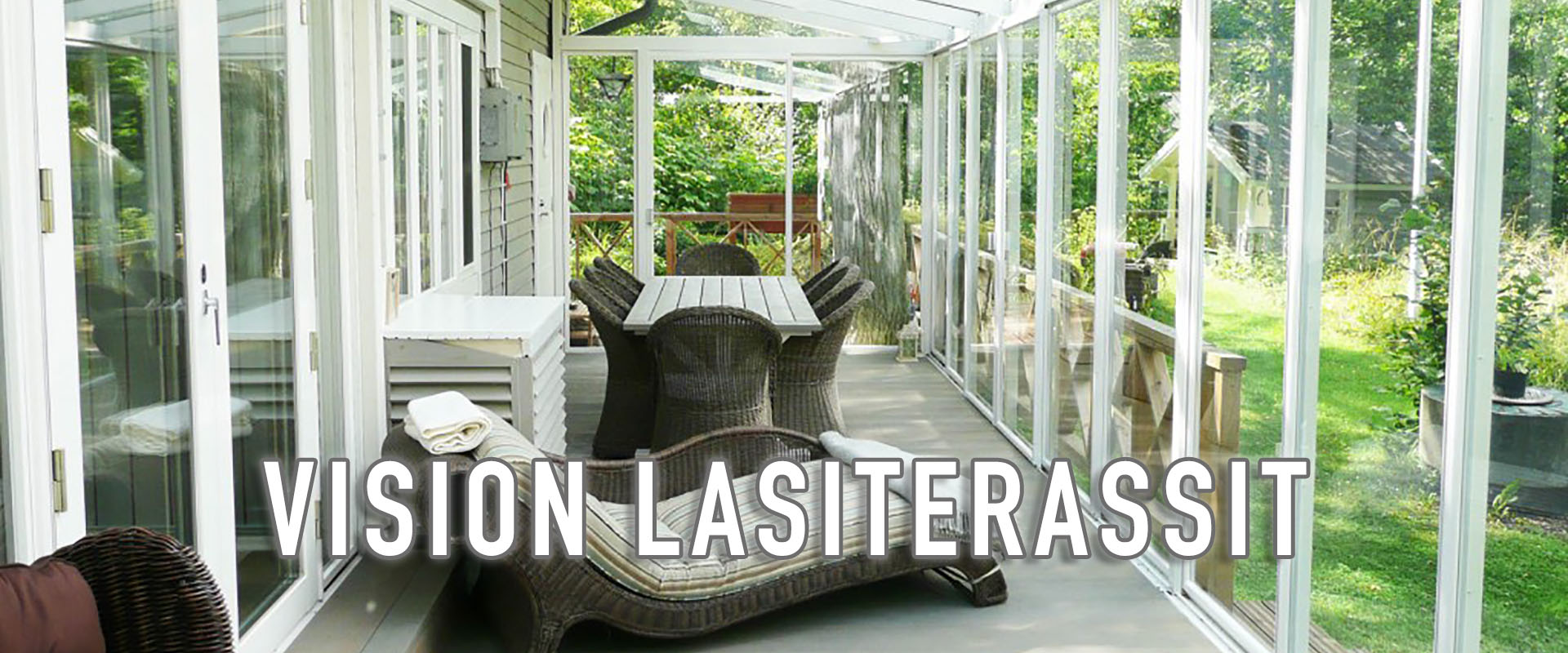 Lasiterassi Tampere - Vision Lasiterassit ja parvekelasit